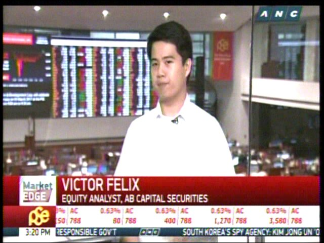 ABS CBN News Channel On Twitter NOW Michelle D Ong Speaks With Victor Felix Of AB Capital Securities About The PSEis February Performance