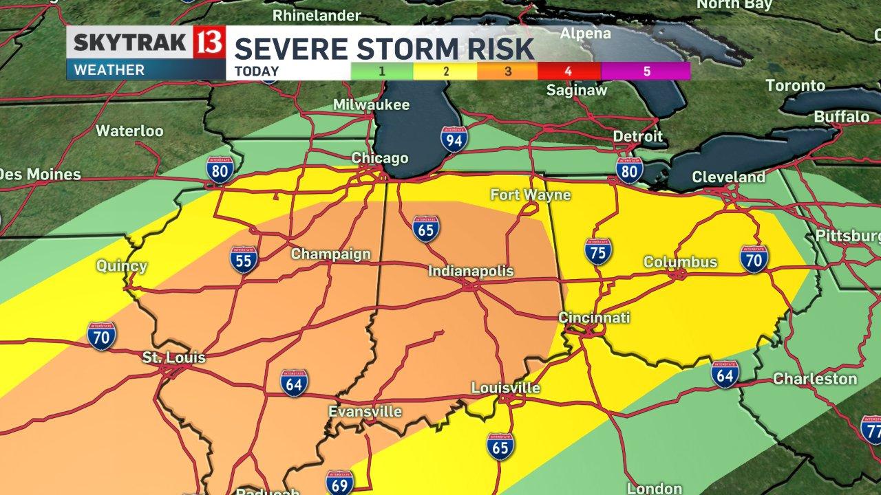 Severe Risk Map