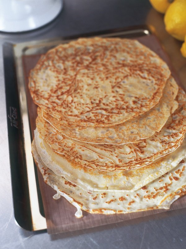 These are the pancakes - with lemon and sugar on top - that say #Panca...