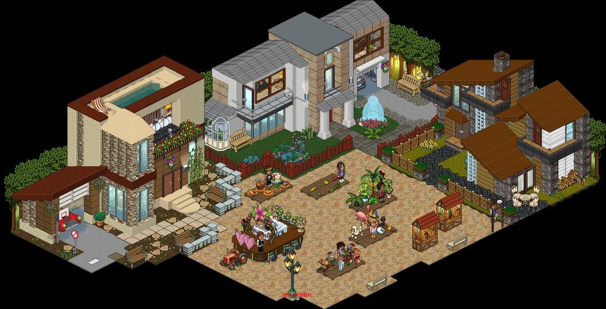Habbo Party Room Ideas