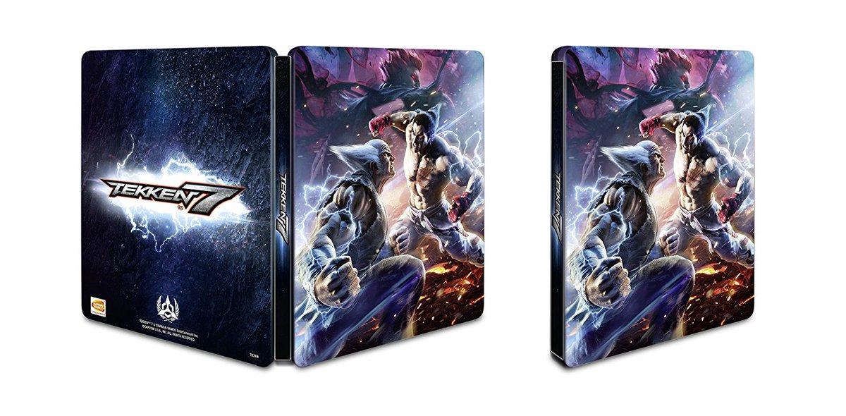 Wonkey On Twitter God Dammit France Got The Cooler Tekken 7 Steelbook Cover Https T Co Opurhf5vdl