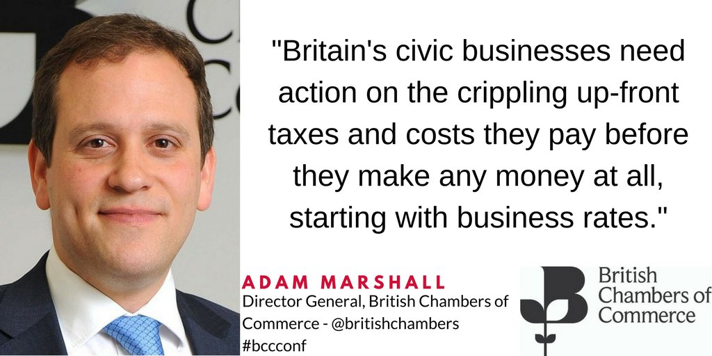 .@BCCAdam calls for action on the high upfront costs facing businesses...