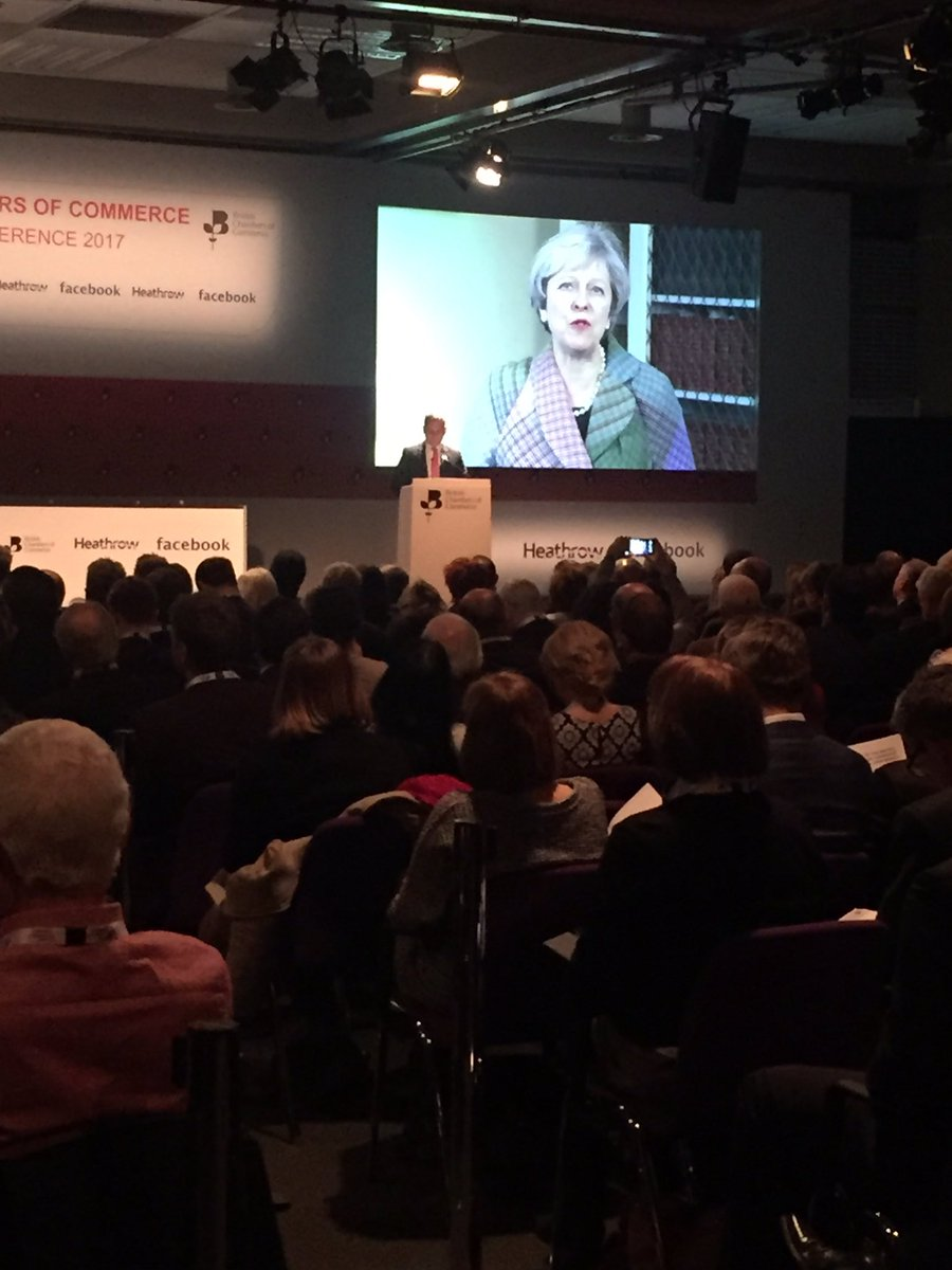 .@Number10gov sends a message to the #BCCConf in support of work of Ch...