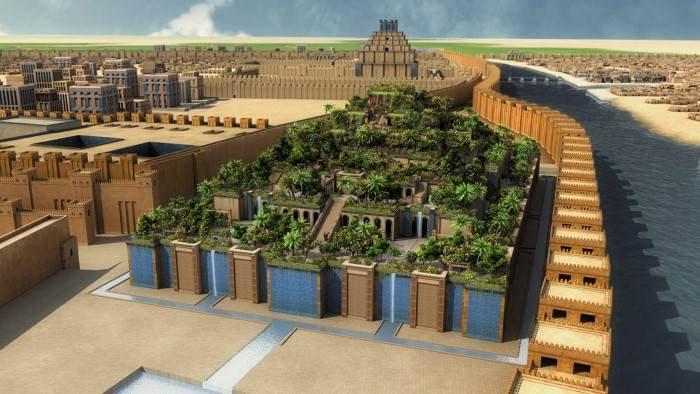 Oriens on twitter los jardines colgantes de babilonia for Los jardines colgantes de babilonia