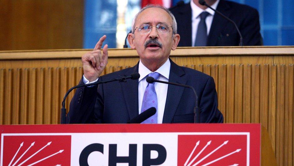 CHP lideri Kemal Kılıçdaroğlu partisinin grup toplantısında konuşuyor...