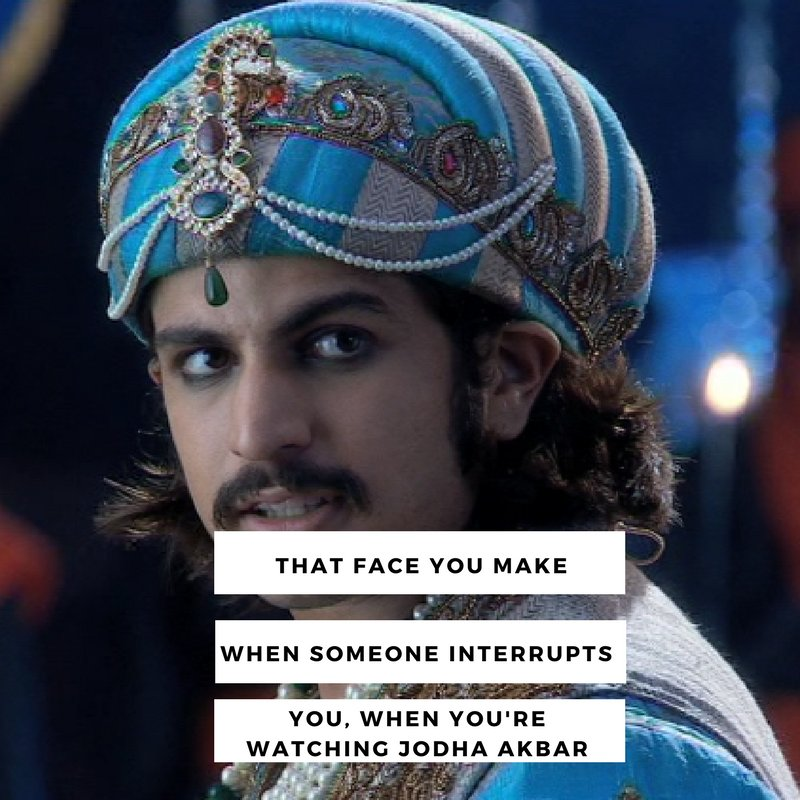 We all need a break to watch #JodhaAkbar, don't we? [4pm] this evening...