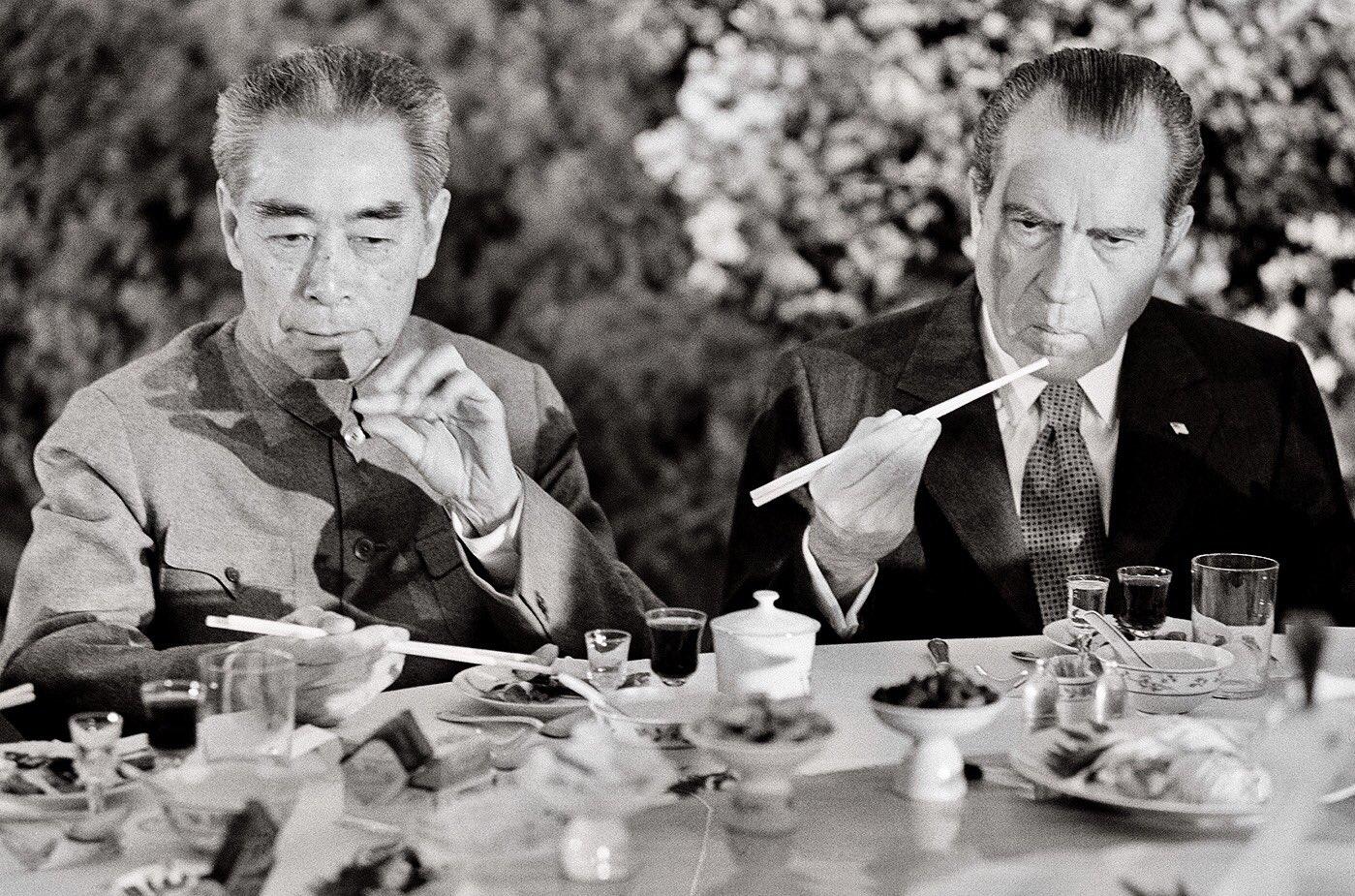 an analysis of president nixons visit to china in 1972