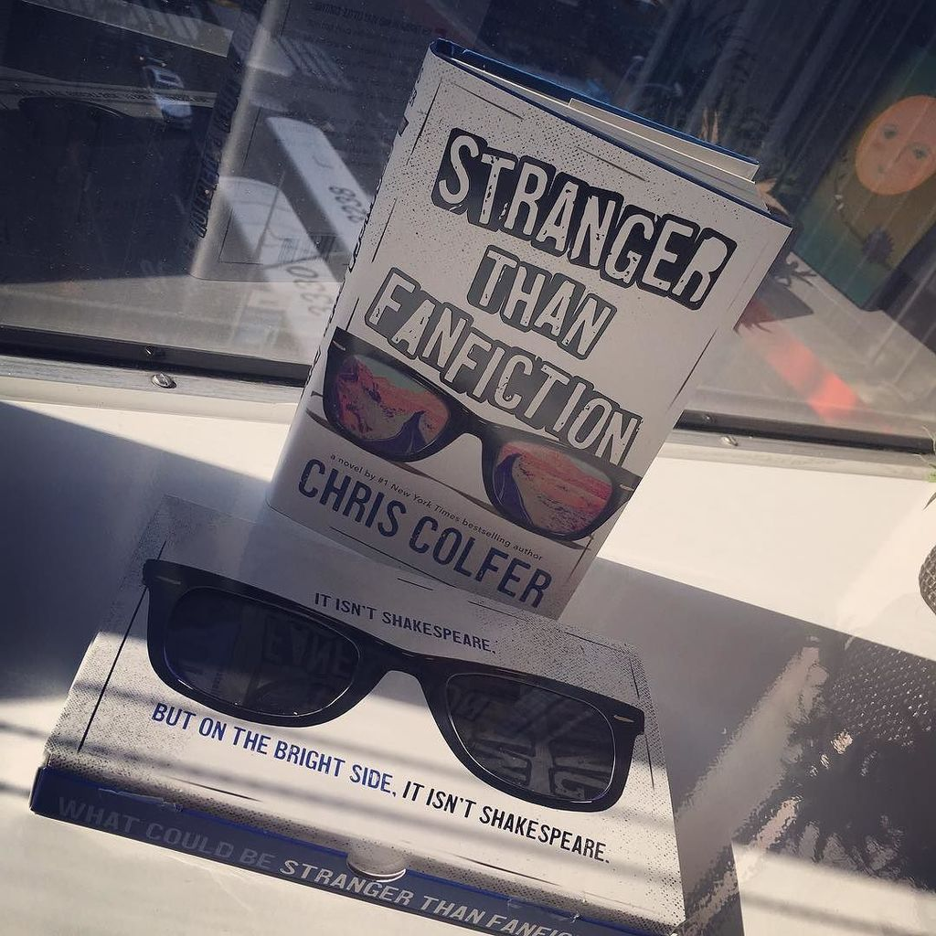 Happy book birthday to the incredible STRANGER THAN FANFICTION by Chris Colfer.