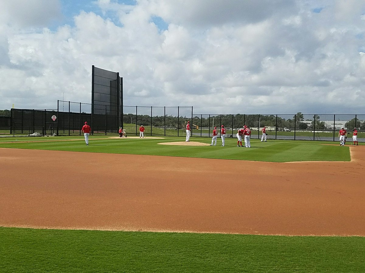 Ballpark of the Palm Beaches Fielding Field
