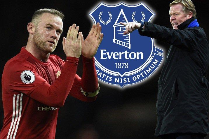 Everton boss Ronald Koeman opens door to sensational Wayne Rooney retu...
