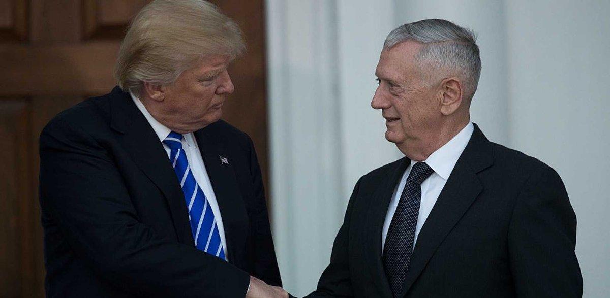 #US Defence Secretary #JimMattis presents preliminary plan to #WhiteHo...