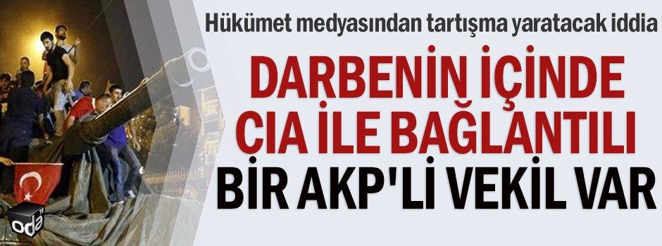 Darbenin içinde CIA bağlantılı bir AKP'li vekil var...     https://t.c...
