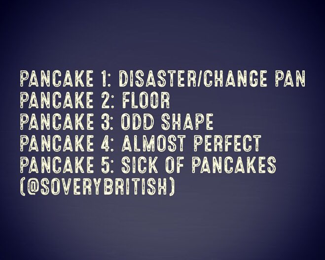 Happy #PancakeDay https://t.co/QR6zyHV6Eq