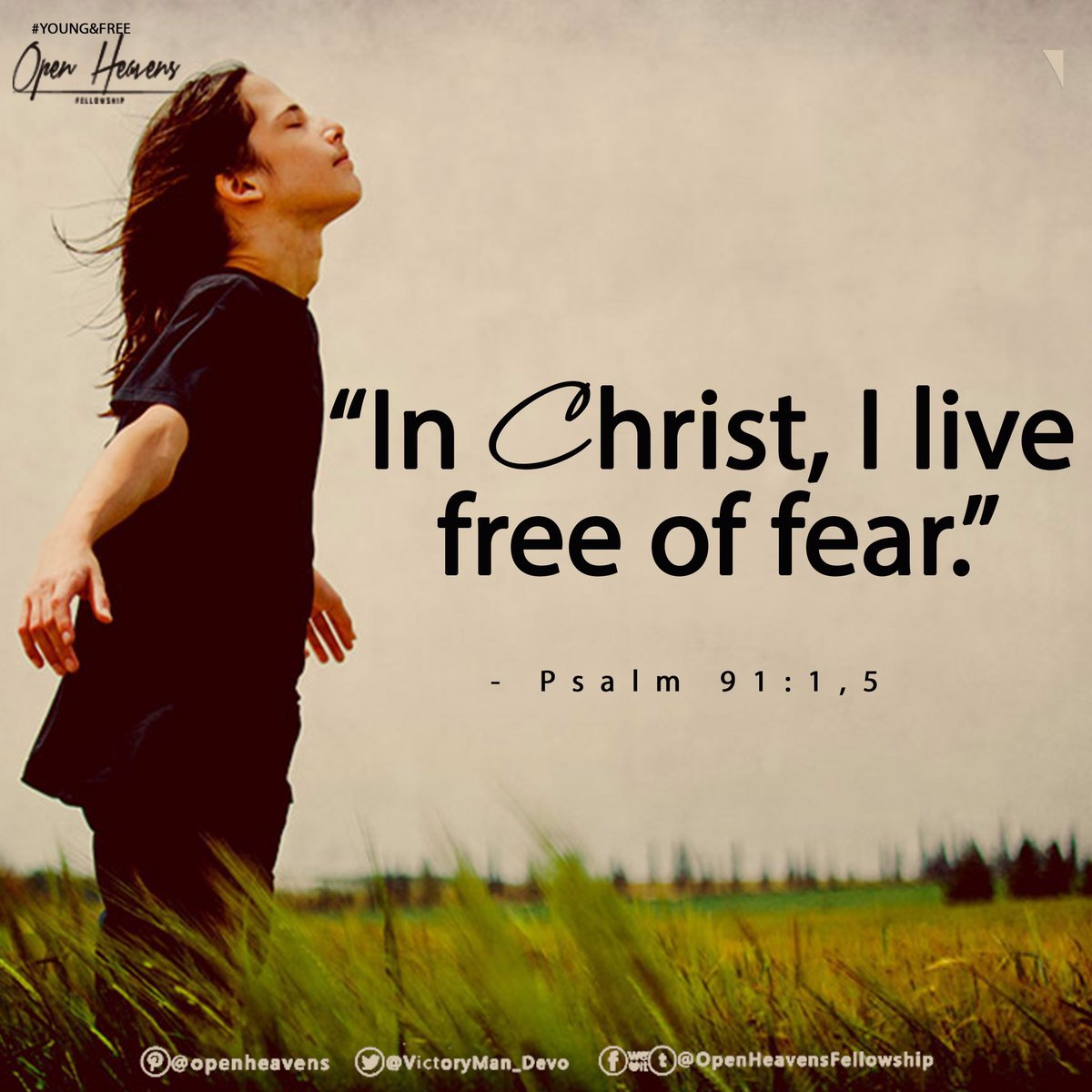 #live #fear #Christ #free #young #teens #freedom #youth #joy #Peaceful...