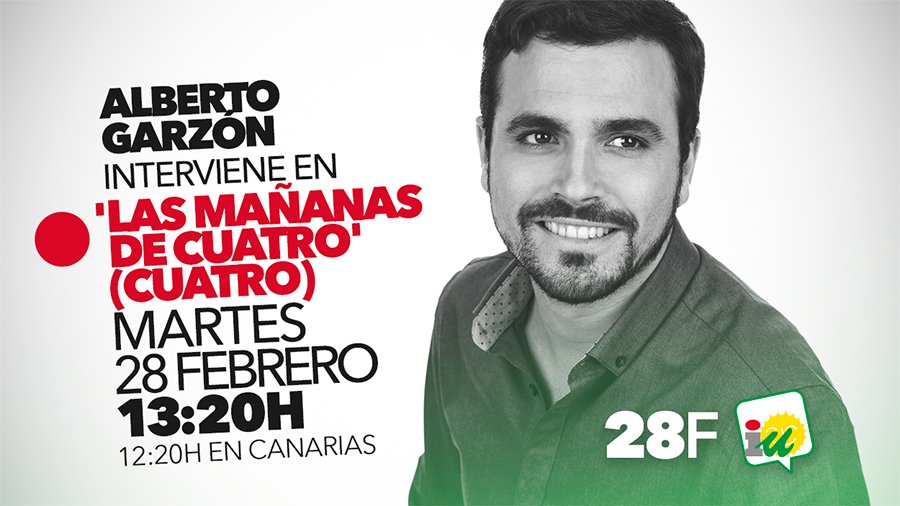 🔴📺 Comienza @agarzon en @mananascuatro. Síguelo en directo en https://...