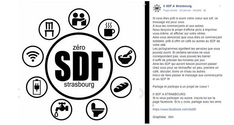 #repas, café, #discussion... #adresses ouvrent leurs portes aux #sansabri  #SDF A #Strasbourg sur leur vitrine !  http://www. oneheart.fr/news/58b3fd508 ead0ecf7b5fa0dc/2017-02-27-a-strasbourg-les-commercants-ouvrent-leurs-portes-aux-sans-abri#191vMqYXc3 &nbsp; … <br>http://pic.twitter.com/VjYxlcMXbk