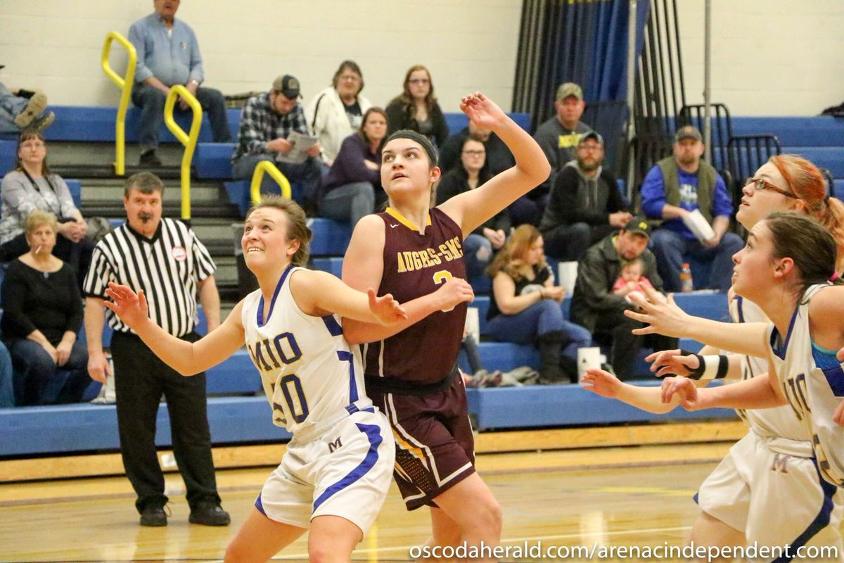 #AuGresAWESOME Au Gres girls take the win 35-31, Girls Basketball Districts photos: