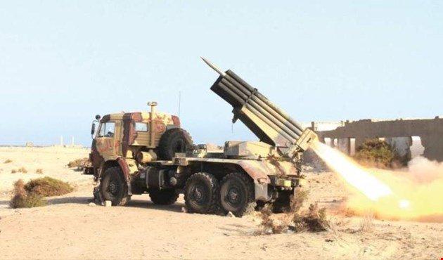 Artillería #yemenita aniquila a cinco soldados de la coalición #saudit...