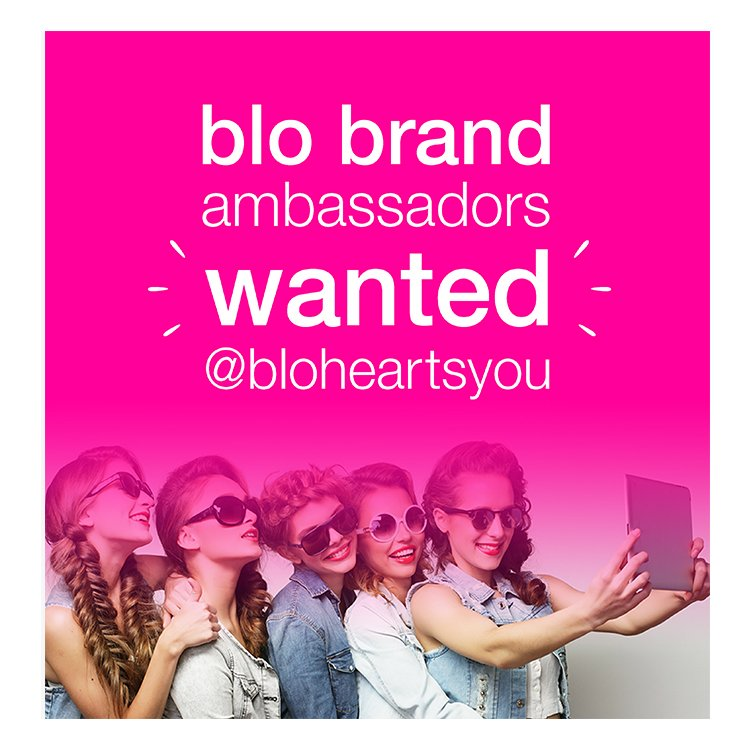 Blo Babes, we are looking for 10 beauty blo-ggers  to be our Blo Brand Ambassadors! Details: https://t.co/4L2WPkgAL0 https://t.co/5kx6HYwXYv