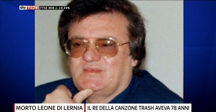 Morto #LeoneDiLernia, il re della canzone trash aveva 78 anni #Canale5...