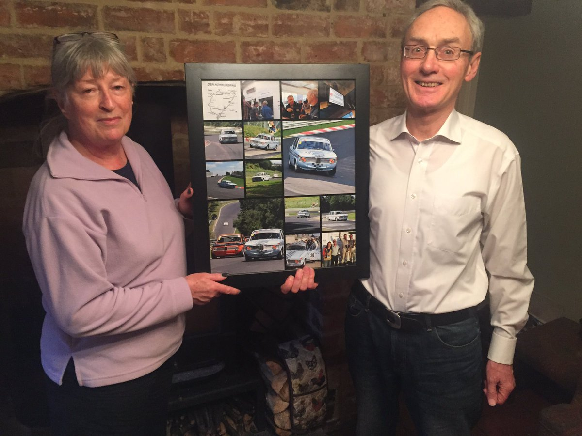Our Great Gloucestershire Roadtrip is in Birdlip, meeting people like Jean and Charles who has a love of racing cars