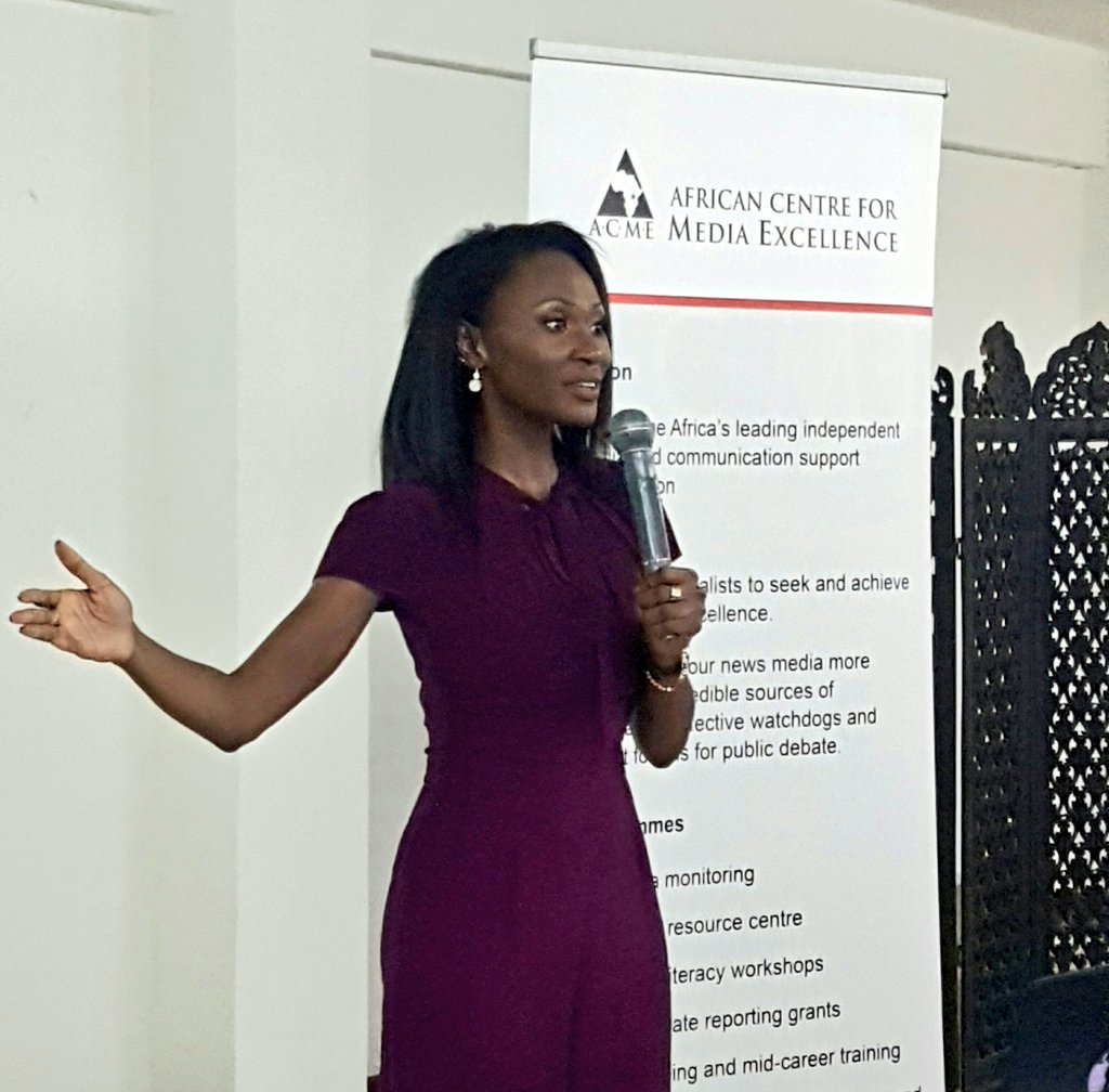 """""""Is it true, or is it fake news? This may be the question of our time."""" - @kacungira  #ACMETalk @ACME_Uganda #FakeNews https://t.co/emW8LohrpF"""