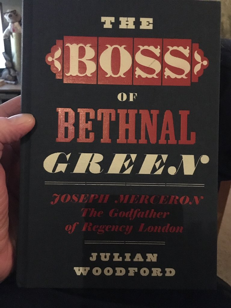 @MScPsychUEL I'm currently reading 'The Boss of Bethnal Green'. The Kray Twins of Regency London https://t.co/lPPMIG5xwk