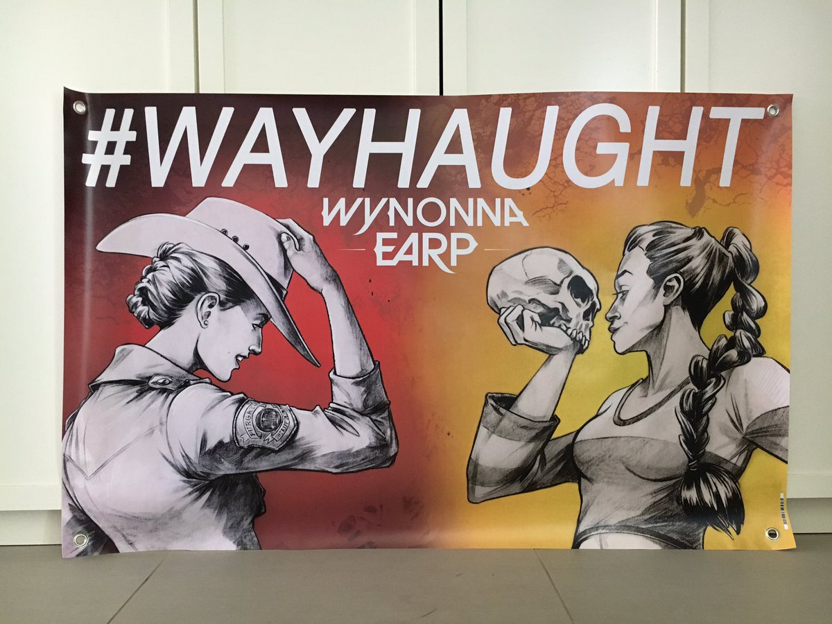 Earpers, looking for me at @ClexaCon? Find me behind this #WayHaught banner in Artists Alley! https://t.co/Bg0u898BBH