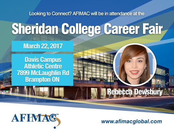 AFIMAC Global On Twitter Join Rebecca Dewsbury At The Sheridan