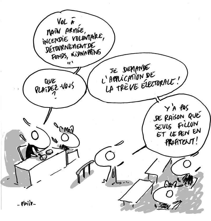 La jurisprudence Fillon. #jurisprudence #fillon #lepen #treve #juges<br>http://pic.twitter.com/ik4YVzyOVj