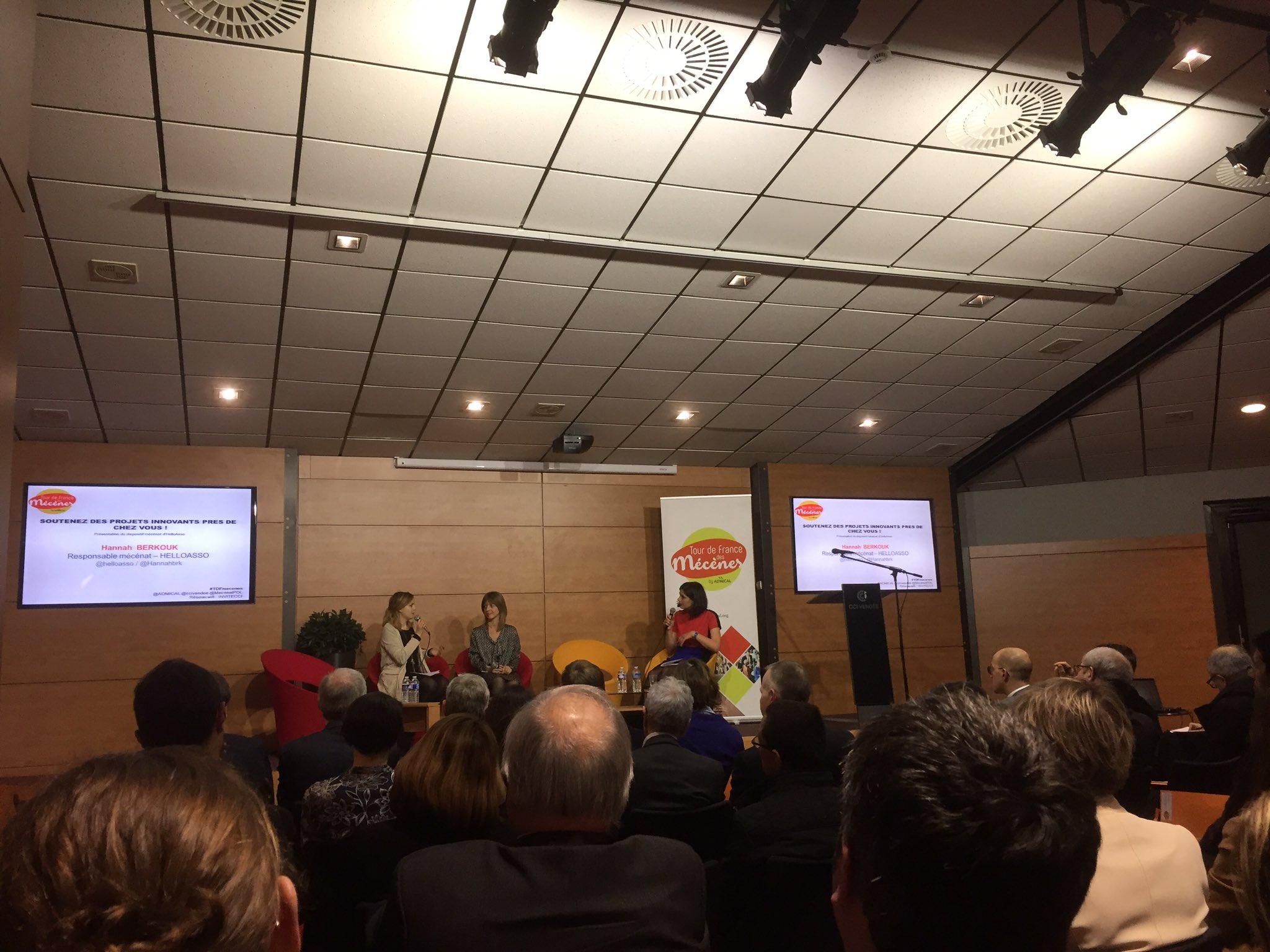 @helloasso le crowdfunding au service des associations #mecenat #entrepreneurs ! Un tour de France des projets à soutenir #tdfmecenes https://t.co/5rKgYduwQc