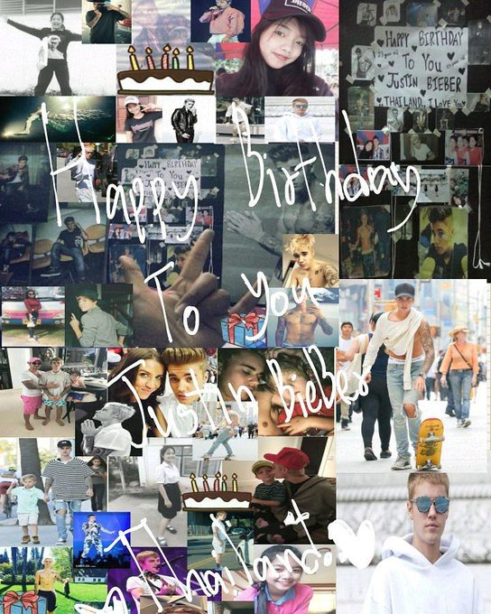 Happy Birthday to you  Justin Bieber 23 year old  I love you so much