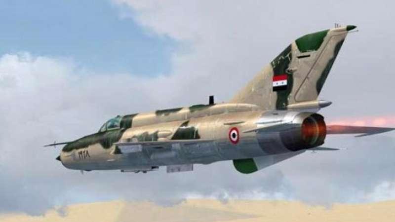 مشاركة طيارين مصريين في قصف الغوطة ودرعا C5xPUReWgAAPHLR