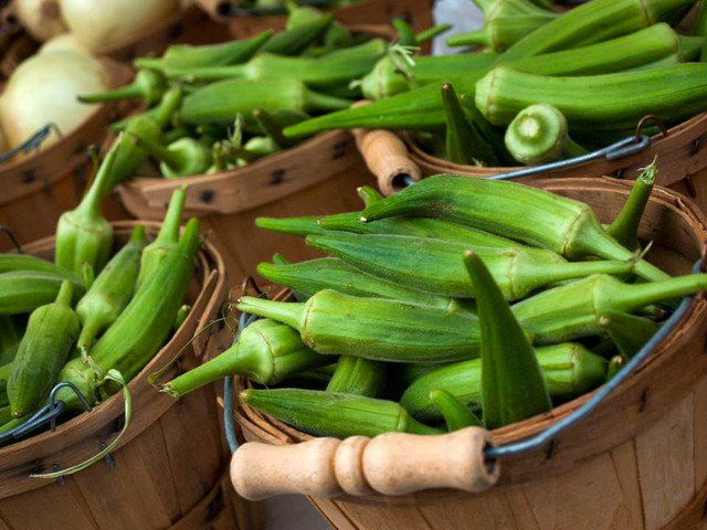Image result for Okra