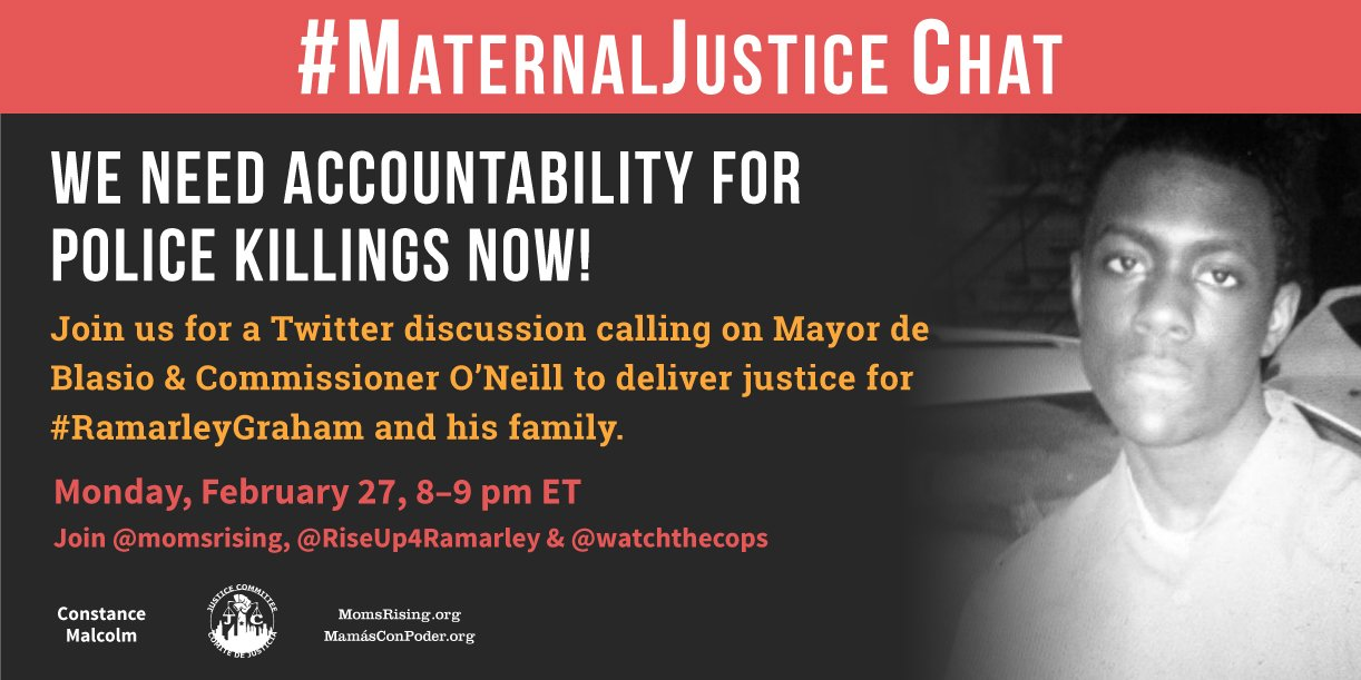 Thumbnail for #MaternalJustice Tweetchat - Justice  for#RamarleyGraham
