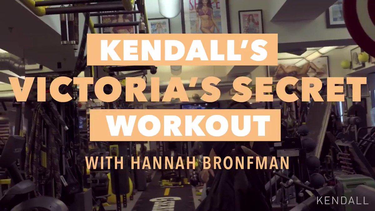 try my exact Victoria's Secret workout full video: https://t.co/kE08dHbt14