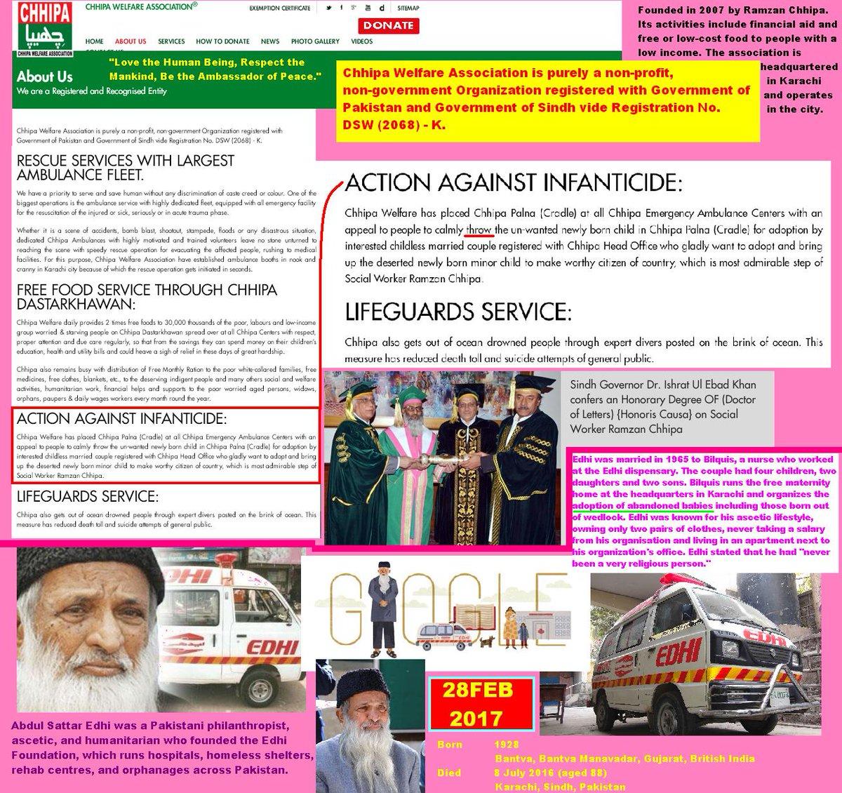 #google Celebrates Abdul Sattar Edhi Today