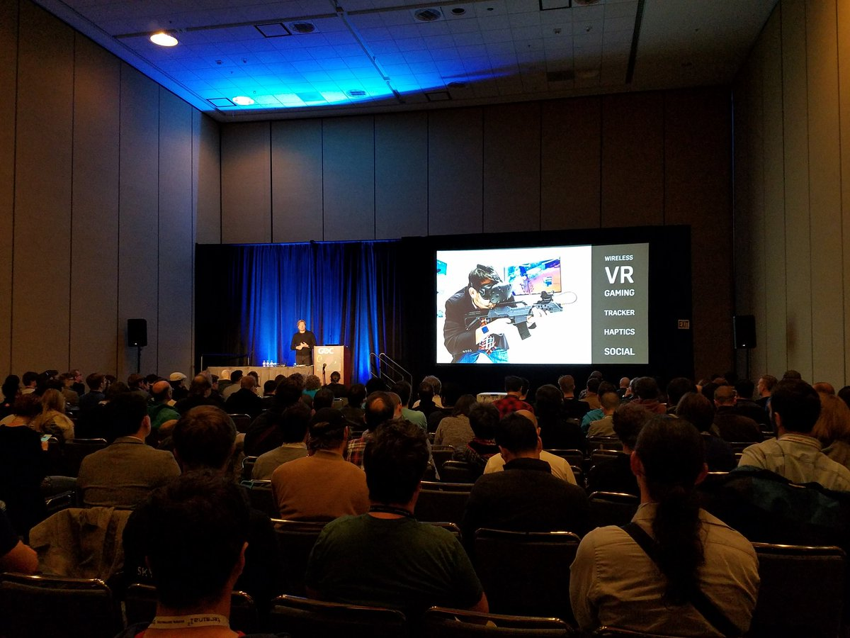 The Holodeck Year 2 Session at #gdc17 is now underway. Come join us in West Hall!
