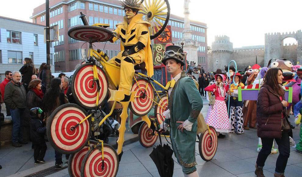 Resultado de imagen de Carnaval de Avila K de calle