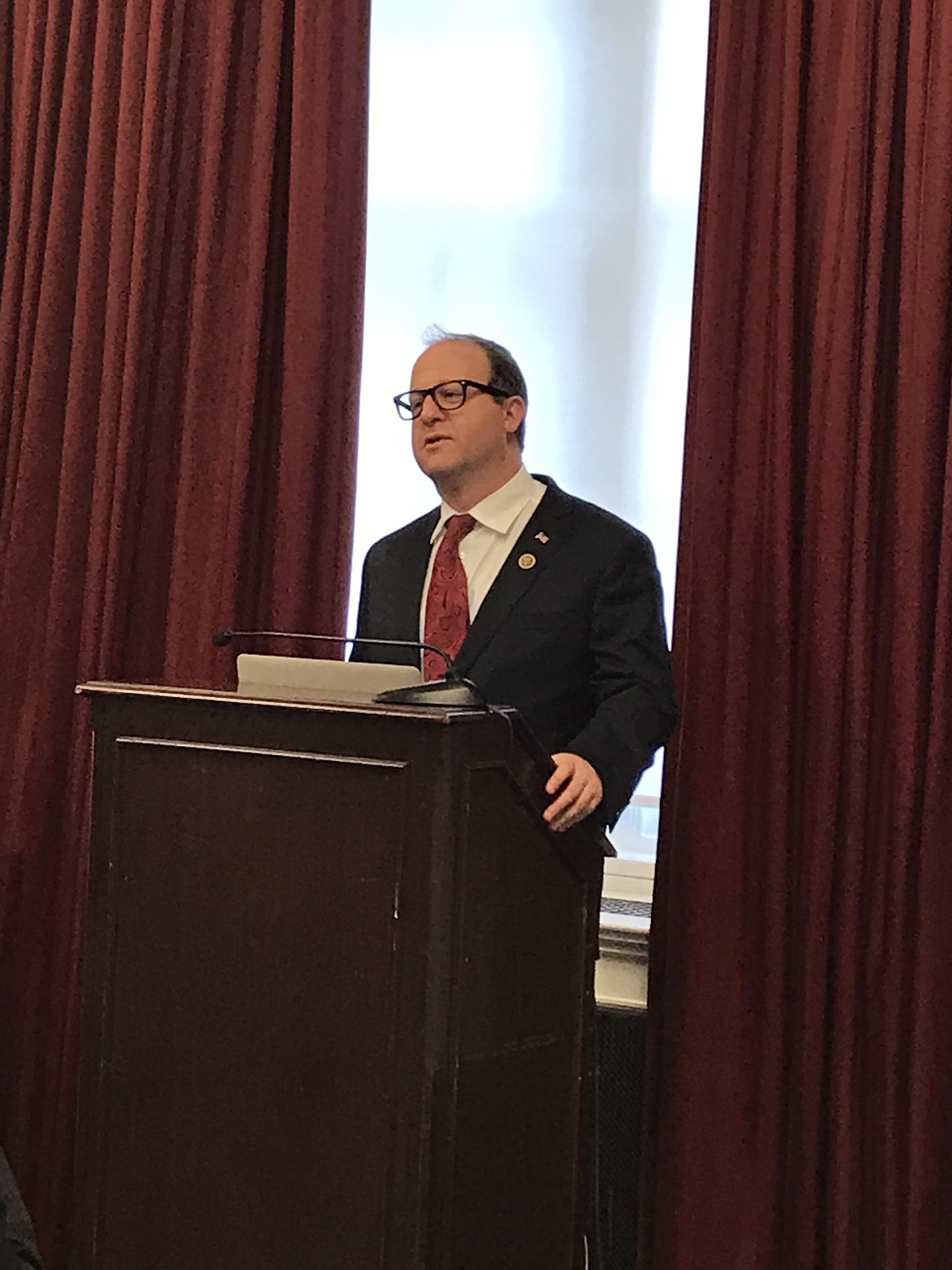 @RepJaredPolis, co-chair of the House Earth and Space Science Caucus speaking at #earthandspace101 https://t.co/iYKRWiyvZb