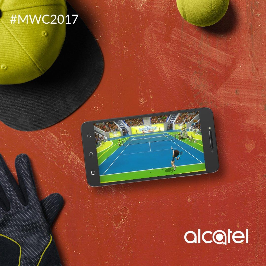 """Disfruta de los últimos juegos de la tienda de apps en la increíble pantalla 5.2"""" HD del Alcatel A5 con procesador Octa-core. #MWC2017 https://t.co/CLPNq1bDEz"""