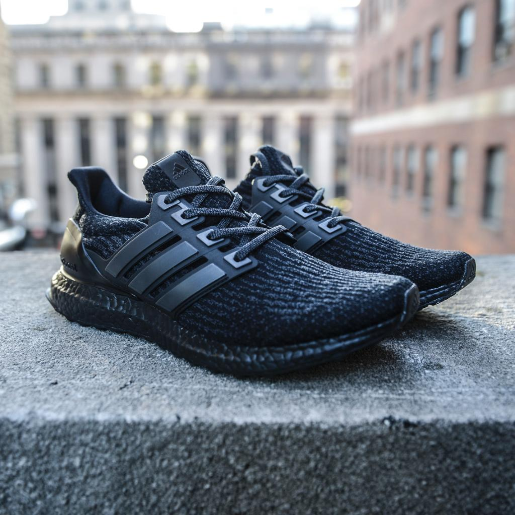 Want Discount UA Ultra Boost 3.0 Black White Come Here Kyle's