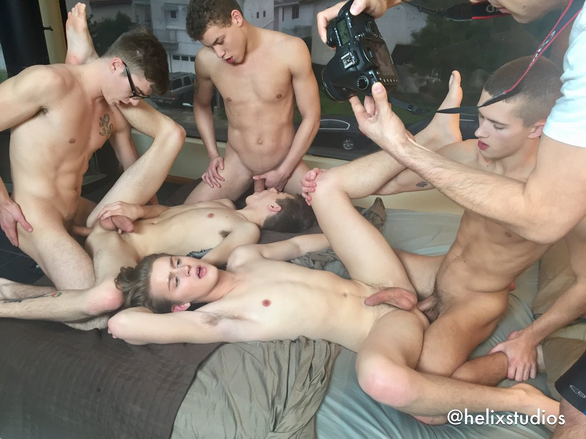 Naked Twink Orgy