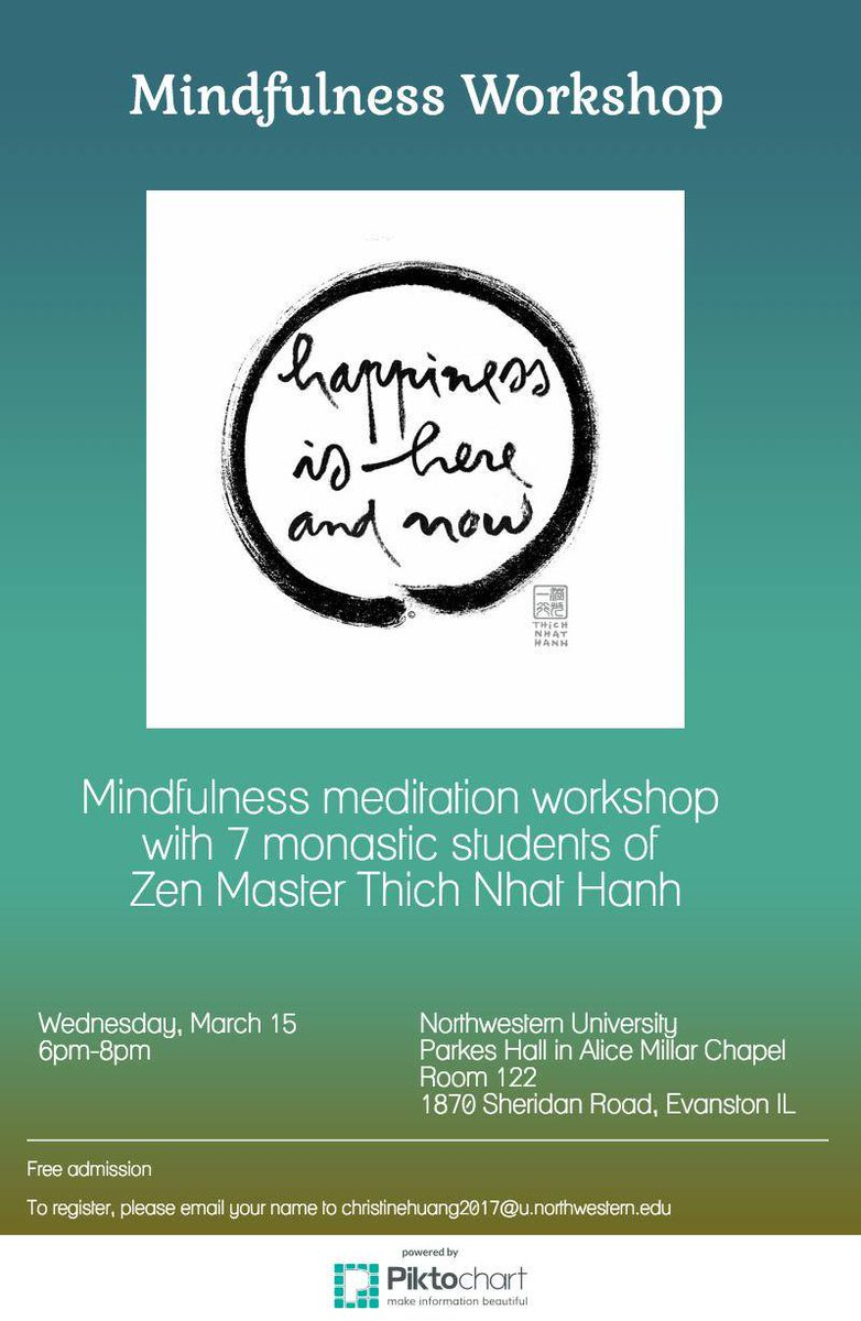 Free Talk On Mindfulness Practice For >> Thich Nhat Hanh (@thichnhathanh) | Twitter