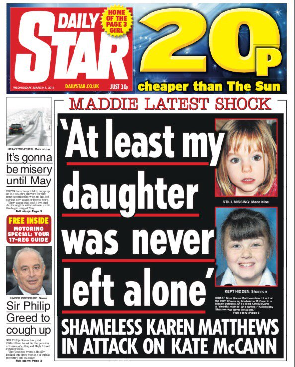 Mother who drugged, tied up and hid nine-year-old in a divan bed for the reward money attacks Kate McCann C5yMo-yWYAAPAHz