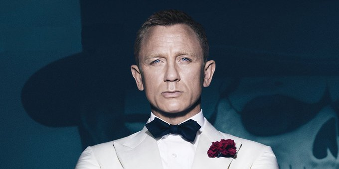 Happy Birthday Daniel Craig! Get yourself a vodka martini. Shaken, not stirred.