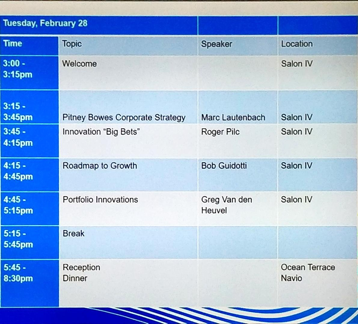 What's ahead today at #PBTechAnalysts https://t.co/Sw9idAD5MQ