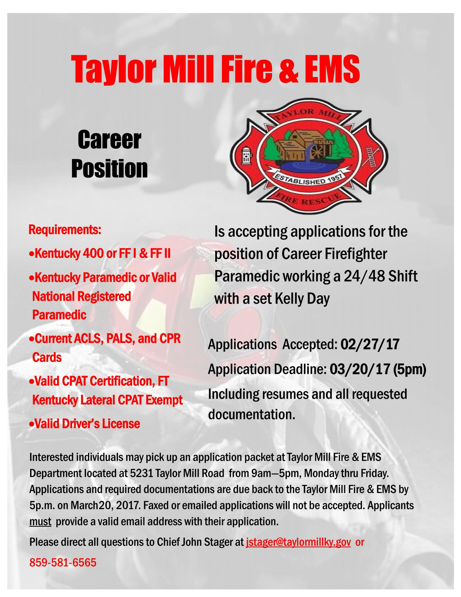 Taylor Mill Fireems On Twitter Taylor Mill Fire Ems Is