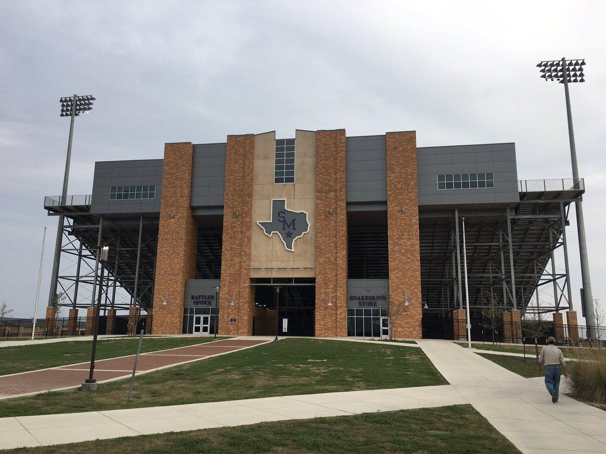#StadiumProject San Marcos HS Rattler Stadium #txhsfb<br>http://pic.twitter.com/kAQ8gjj0D3
