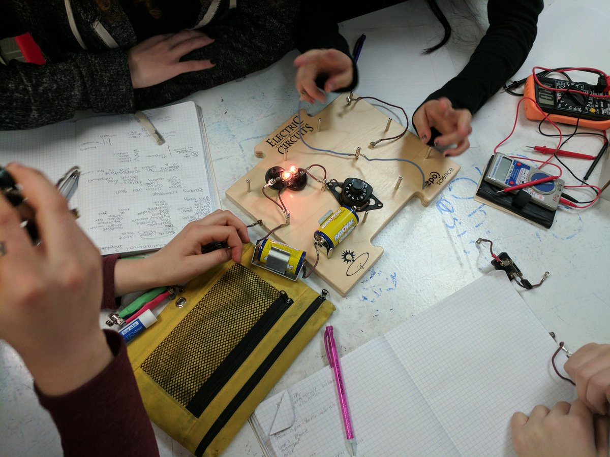 Ghs Innovation Lab On Twitter The Stem Group Started Learning Electricity Electrical Circuits About And After A Week Of Heavy Math What Will They Create This Year